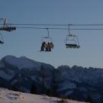 stacja narciarska jurgowski widok z gorkowego wierchu