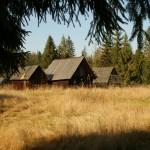 szalasy pasterskie na polanie podokolne w jurgowie